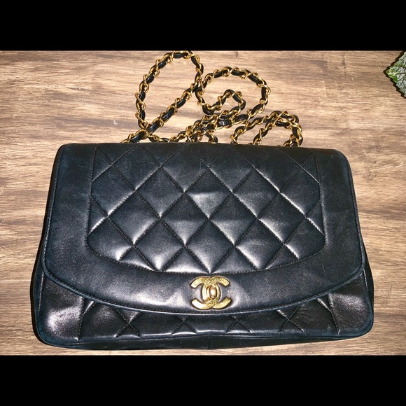 74205503f855 CHANEL Bags | Vintage Diana Flap Bag Quilted Lambskin | Poshmark